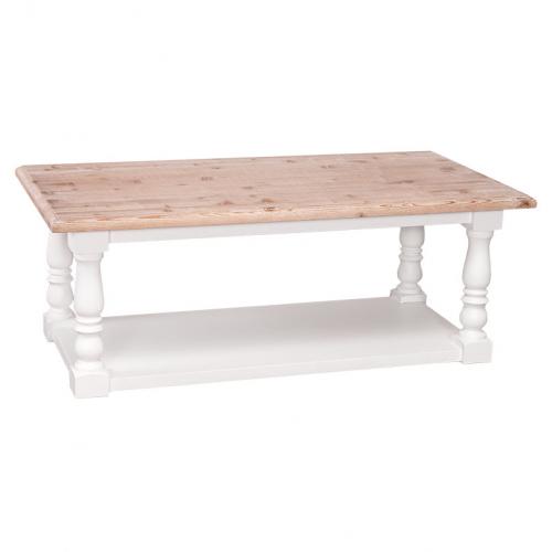 Provance  fenyőfa   dohányzó asztal