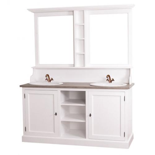 Provance  fenyőfa   fürdőszoba bútor