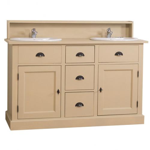 Provance  fenyőfa fürdőszoba mosdószekrény