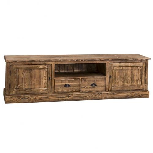 Provance  fenyőfa TV szekrény alsó rész