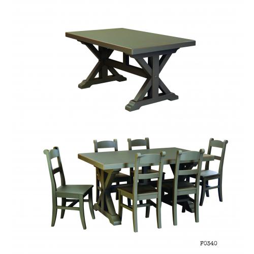 Frankfurt étkezőasztal
