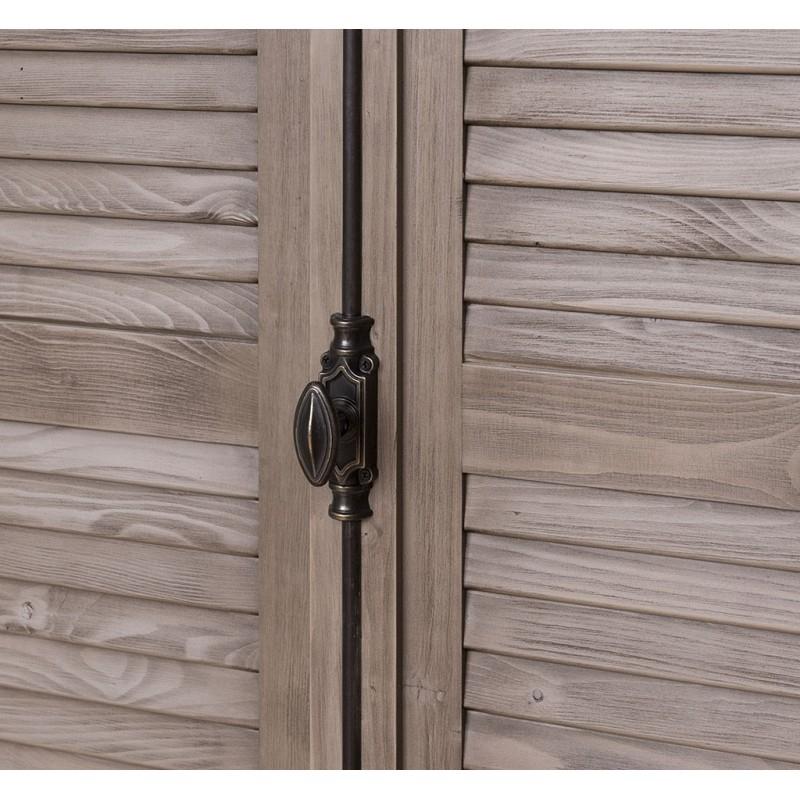 Provance  fenyőfa francia stílusú szekrény