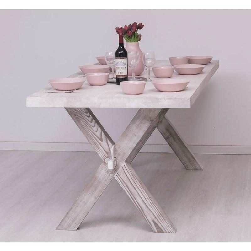 Provance  fenyőfa asztal, monostorasztal