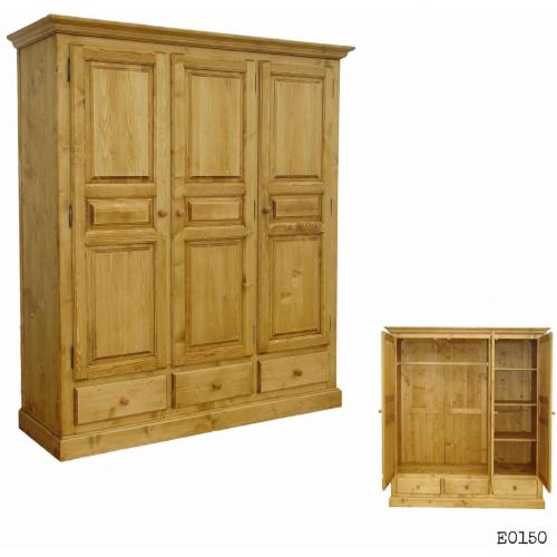 Edelweiss  háromajtós szekrény