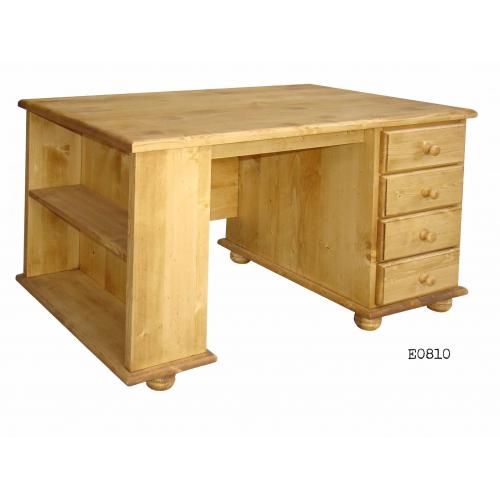 Edelweiss fenyőfa  íróasztal