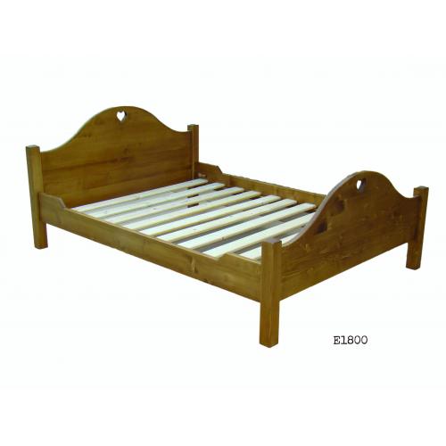 Edelweiss fenyőfa  ágy