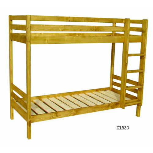 Edelweiss fenyőfa emeletes ágy