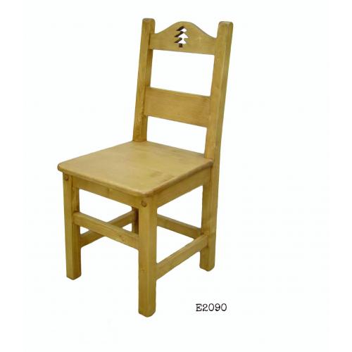 Edelweiss fenyőfa szék