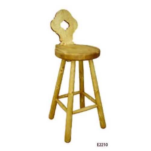 Edelweiss  fenyőfa népies szék