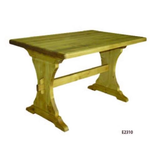 Edelweiss   fenyőfa monostor asztal