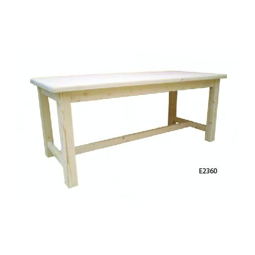 Edelweiss  fenyőfa étkezőasztal