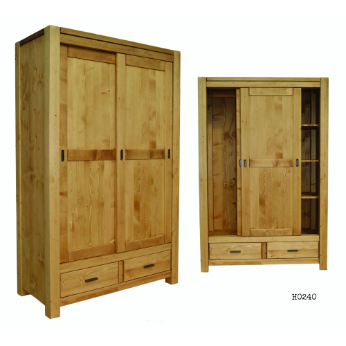 Heidi tolóajtós szekrény