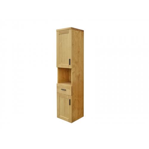 Heidi  fali  fenyőfa fürdőszoba szekrény