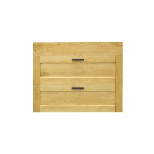 Heidi  fenyőfa fali fürdőszoba szekrény