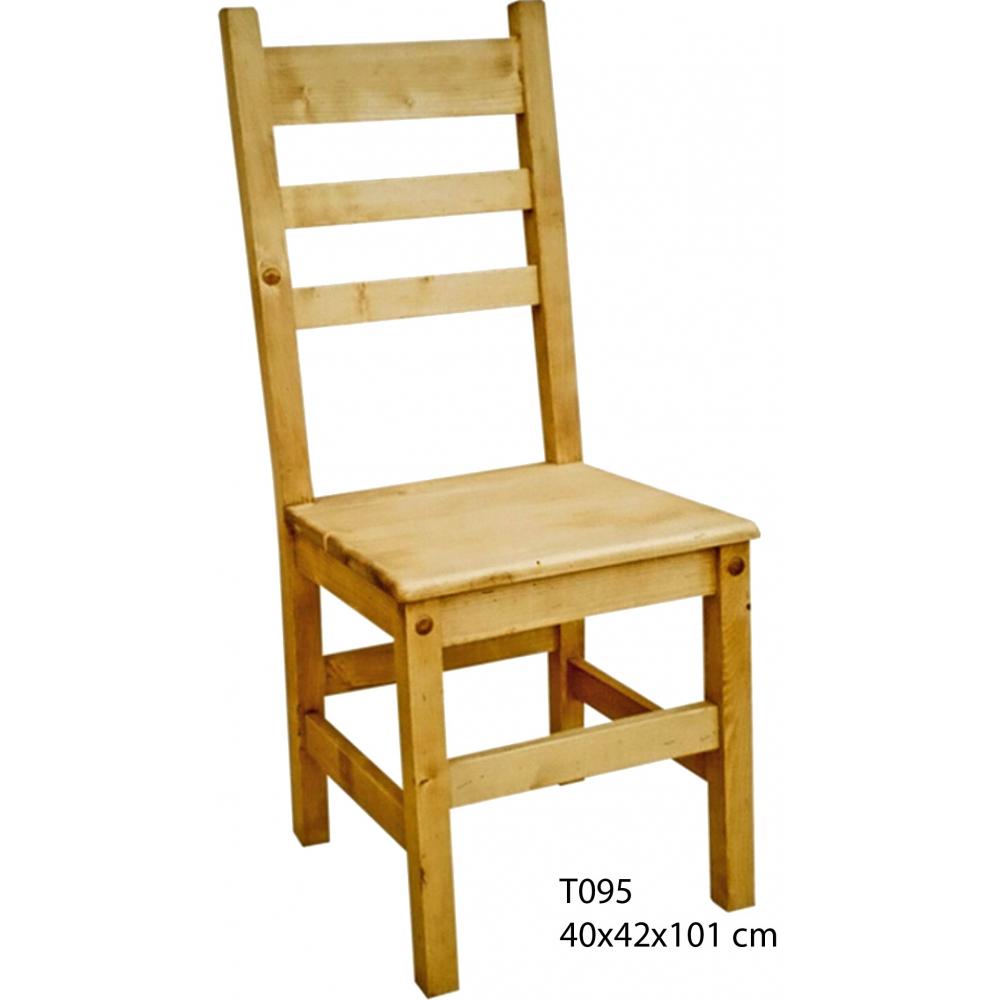 Hagyományos natúr népi parasztbútor, szék, pad, méhviaszolt