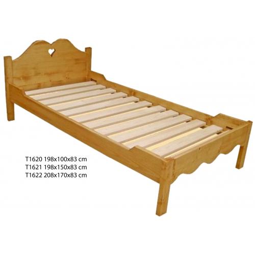 Tradició  népi fenyőfa ágykeret