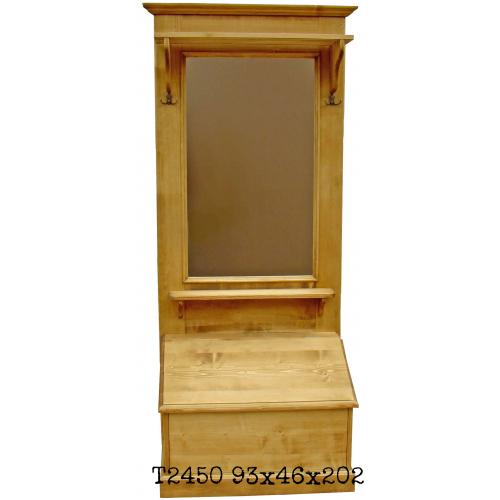 Tradició  népi fenyőfa előszoba bútor